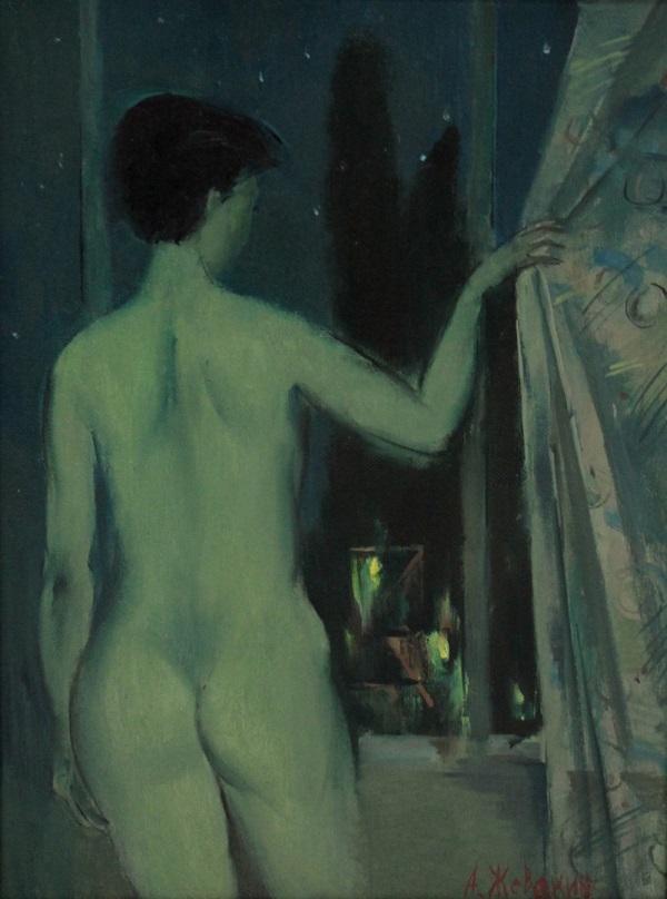 """Андрей Жевакин  """"Вечернее окно"""""""