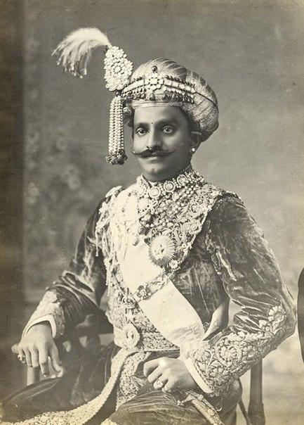 Королевские мужские украшения времен махараджей. Индия конец 19 начало 20 века