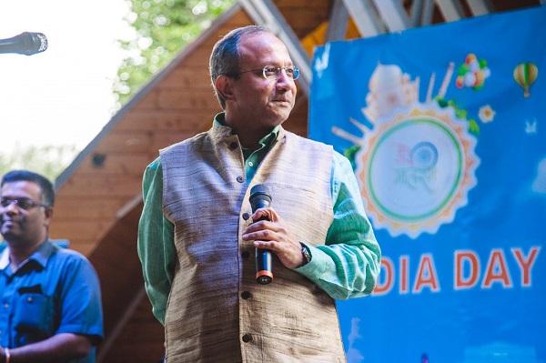 Господин Панкадж Саран Чрезвычайный и Полномочный посол Индии в Москве фото: Пресс-служба Парка Сокольники