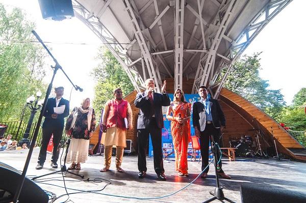 Официальное выступление на главной сцене мероприятия фото: Пресс-служба Парка Сокольники