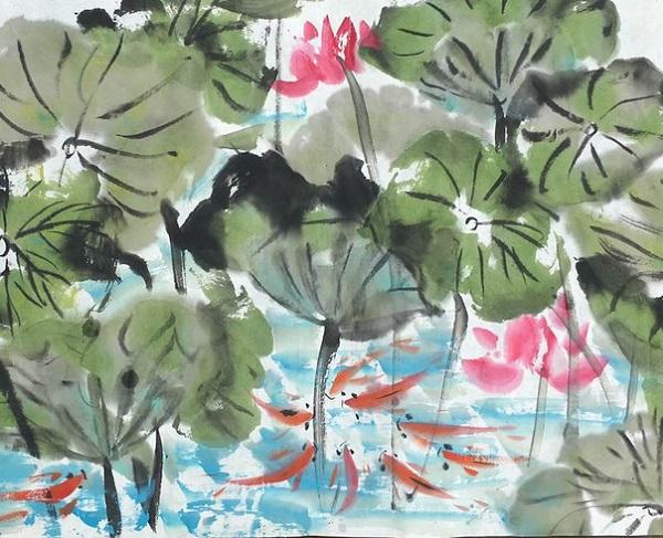 Чжу Миндэ – председатель ассоциации китайских художников, член ассоциации китайских каллиграфов, член ассоциации пекинских писателей, бывший президент Пекинской академии общественных наук, профессор и вице-президент Пекинского педагогического университета, Пекинского научно-исследовательского института развития культуры Выставка в Китайском Культурном Центре с 1 по 7 августа 2016 года