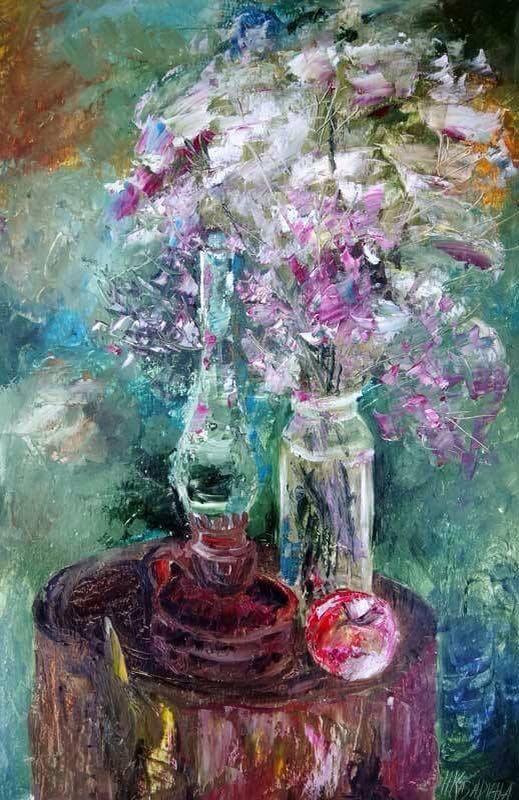 Женщины и цветы фото 3