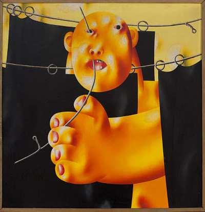 Олег Целков АВА Gallery, Нью-Йорк