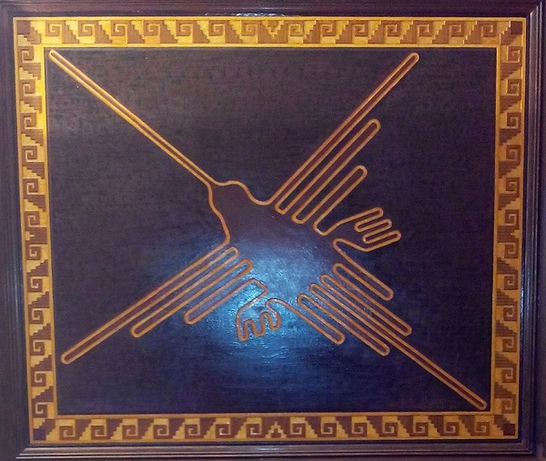 Картина  Рауля Вирлема  художника из Перу.