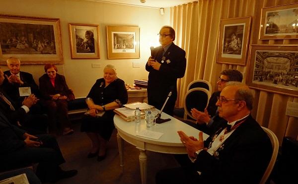 В Доме-Музее Василия Львовича Пушкина прошла  Восьмая Ассамблея  Академии Российской словесности 21 октября 2016 года