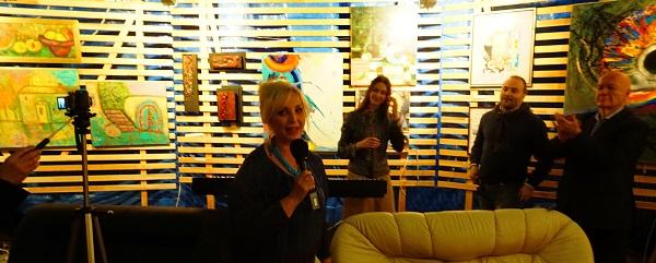 Лариса Белима  художник, член ТСХР участник выставки