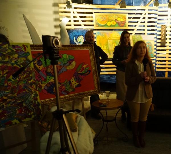Наталья Гиндес художник, поэт, психолог участник выставки