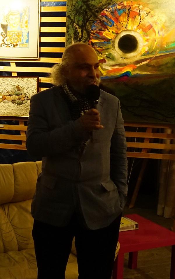 Омар Годинес (Куба) художник, участник выставки
