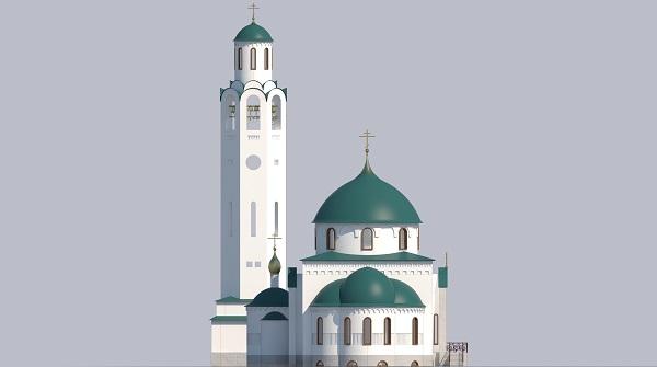 Храм в честь иконы Божией Матери Достойно есть