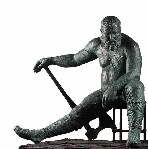 Скульптор Иван Коржев «Евпатий Коловрат»