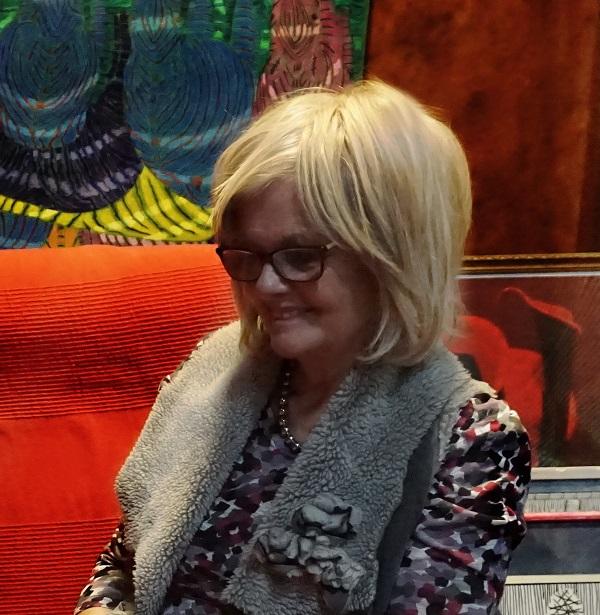 Жаклин Диана Мосс супруга художника Мухадина Кишева, его муза, любовь и продюсер