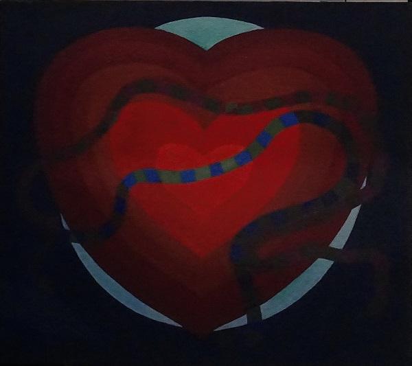 """Эта картина Мухадина Кишева -- прекрасная иллюстрация к предстоящей презентации книги о его творчестве """"Искусство любви"""""""