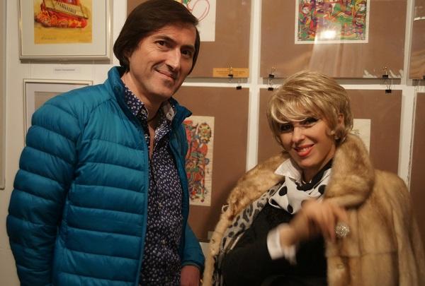 Ирэна Усова и Марат Кадышев гости мероприятия в Творческой Мастерской Рябичевых
