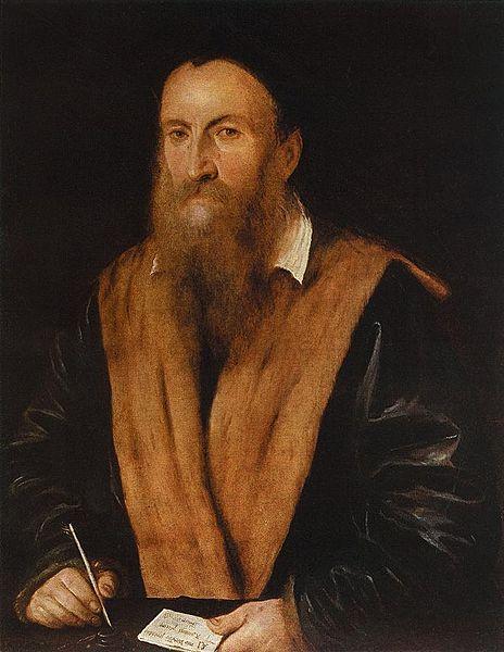 Портрет Романино, написанный художником Л.Гамбара