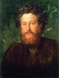Портрет Уильяма Морриса  кисти Джорджа Фредерика Уоттса  1870 г.