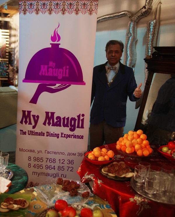 """Кафе-ресторан """"Маугли""""  предоставил угощение на открытие выставки, главным блюдом которого стал чай масала со специями"""