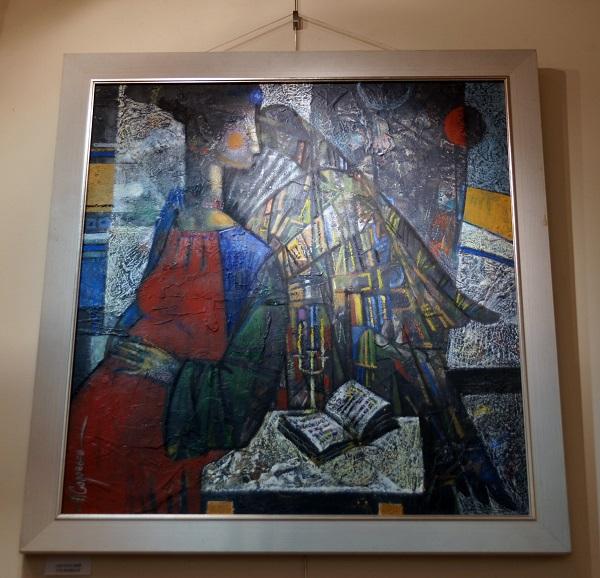 Художник  Анатолий Соловьев участник проекта  Российской Академии искусств