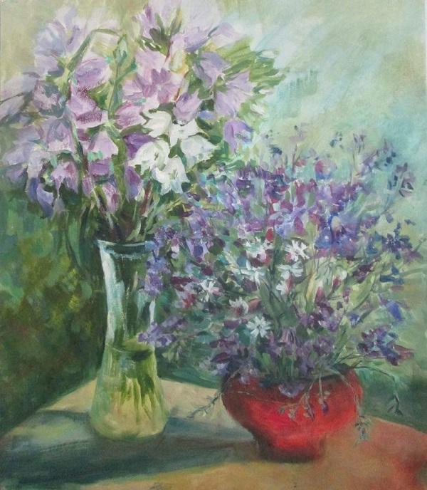 Выставка Женщины и цветы Весна 2017 г. (фото 6) Арт-Релиз.РФ
