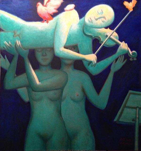Копия Кумир с кариатидами  Выставка Александра Токарева АРТ-Релиз.РФ