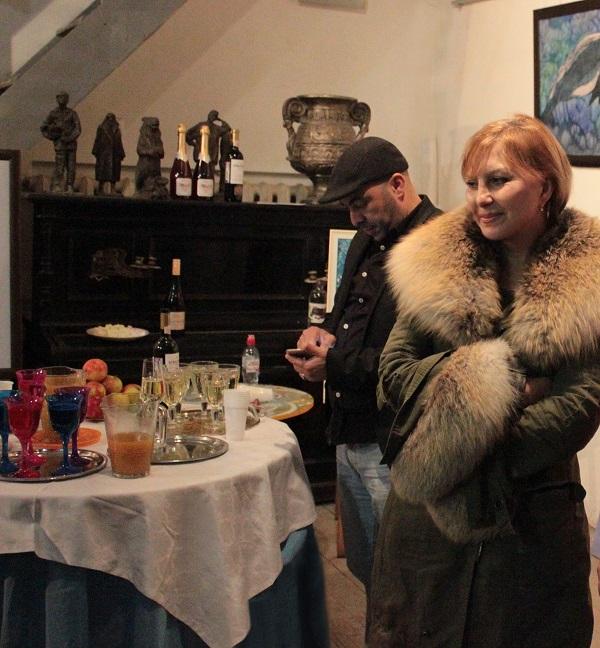 Выставка Ирины Богомоловой в Творческой Мастерской Рябичвых открытие с Жанной Булгаковой Арт-Релиз.РФ