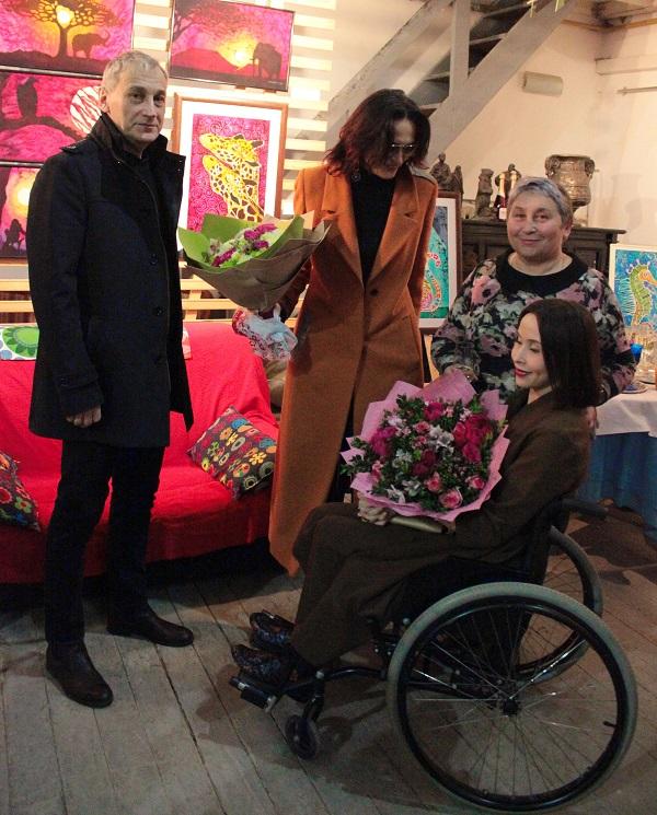 Выставка Ирины Богомоловой в Творческой Мастерской Рябичвых с Людмилой, Мариной, Александром АРТ-Релиз.РФ