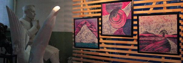 Выставка Ирины Богомоловой в Творческой Мастерской Рябичевых картины Арт-Релиз.РФ