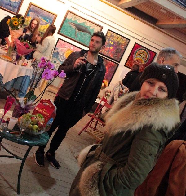 Выставка Ирины Богомоловой в Творческой Мастерской Рябичевых  с Жанной Булгаковой Арт-Релиз.РФ