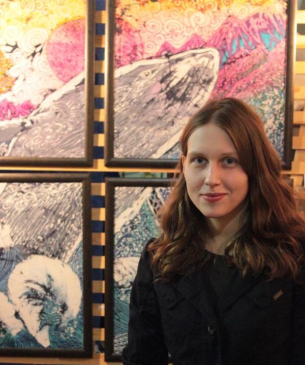 Выставка Ирины Богомоловой в Творческой Мастерской Рябичевых  с Марией Сивковой Арт-Релиз.РФ