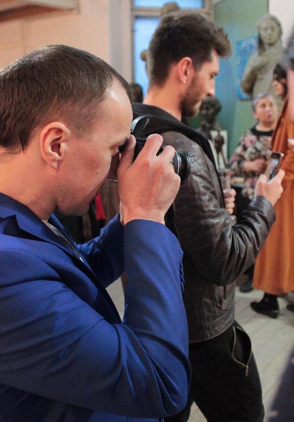 Выставка Ирины Богомоловой в Творческой Мастерской Рябичевых          .Арт-Релиз.РФ
