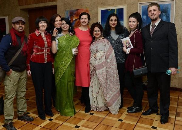 """На выставке  """"Россия Индия Бангладеш"""" в Посольстве Республики Бангладеш  в Мосве"""