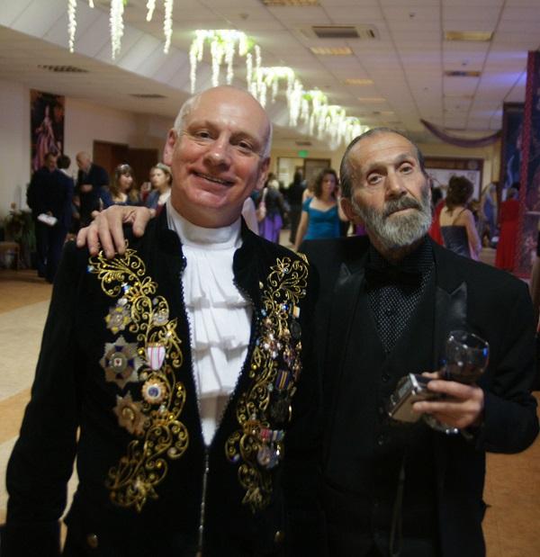 Президент Общества Русско-Грузинской дружбы  Тамаз Джандиери (справа) с коллегой