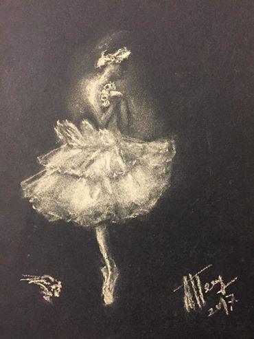 Людмила Петрушевская Анна Павлова. Выставка в Галерее Тамары Веховой (фото 2)