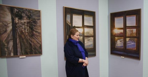 Римма Юсупова  автор выставки