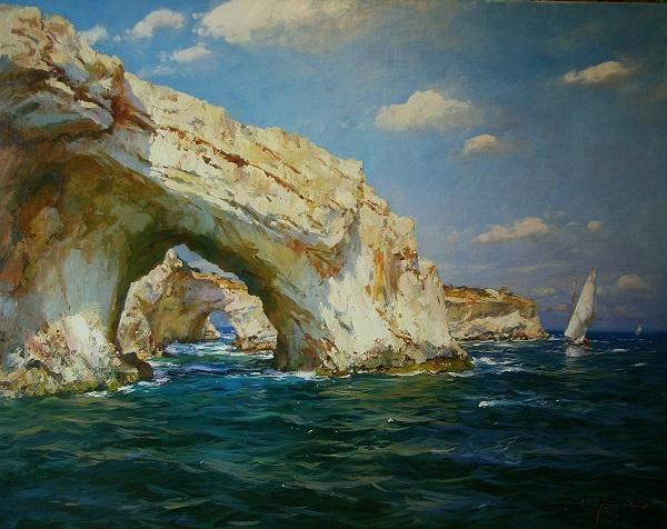 Сергей Свиридов, выставка Здесь, у моря (фото 1) Арт-Релиз.РФ