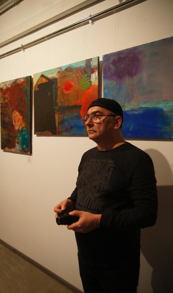 Константин (Gandi) Поляков фотограф, художник, участник и организатор пленэров в Гокарну (Индия)