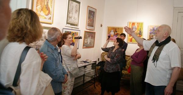 Выставка Лидии Тихонравовой (фото 11) Арт-Релиз.РФ
