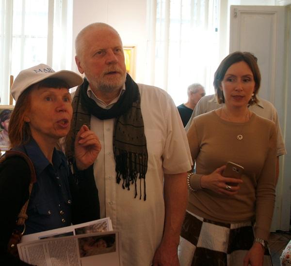 Выставка Лидии Тихонравовой (фото 2) Арт-Релиз.РФ