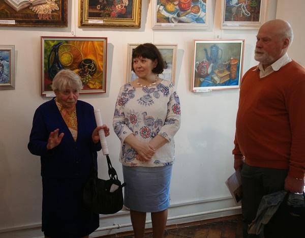 Выставка Лидии Тихонравовой (фото 6) Арт-Релиз.РФ