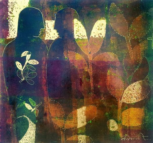 "Sonali Pithawe Сонали Питхэйв  участница проекта  ""Арт-Мост: Россия-Индия-Бангладеш"""
