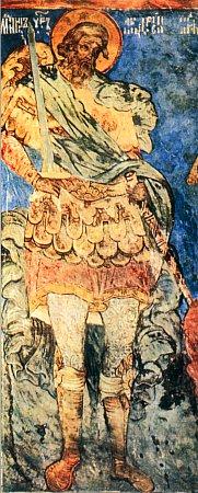 Андрей Стратилат Таврийский  Фреска Троицкого Собора  Ипатьевского монастыря  17 век