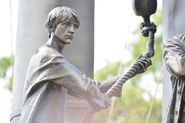 Мария Тихонова Памятник, скульптор, открытие Арт-Релиз.РФ