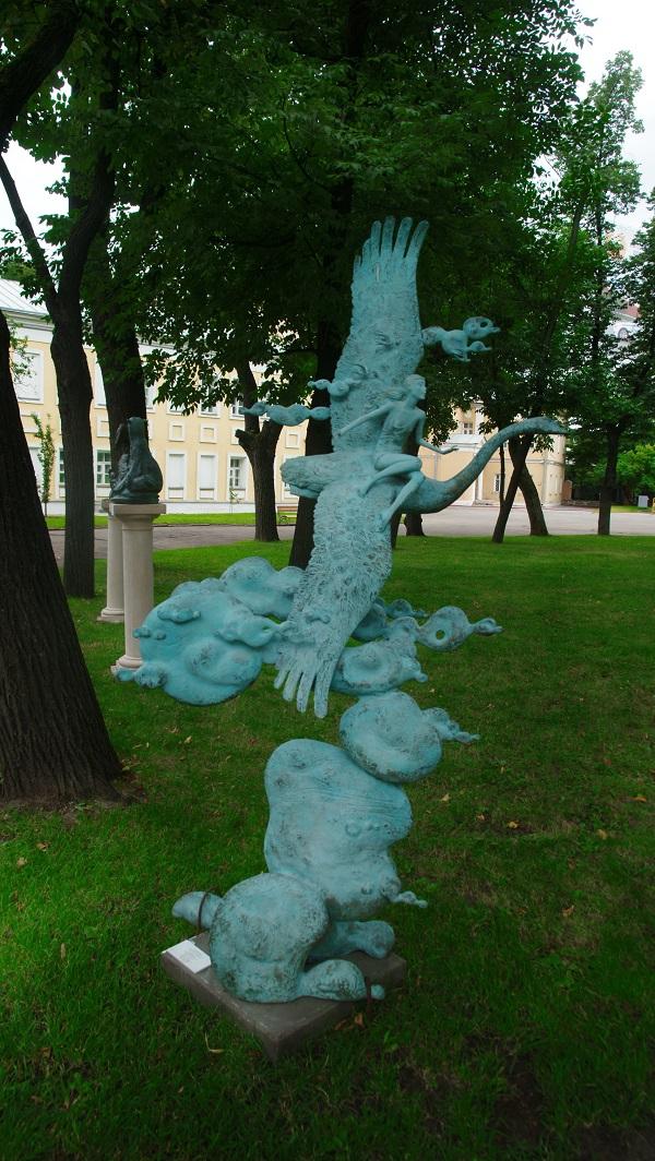 Скульптор Олег Закоморный  Выставка в Музее Декоративно-прикладного искусства