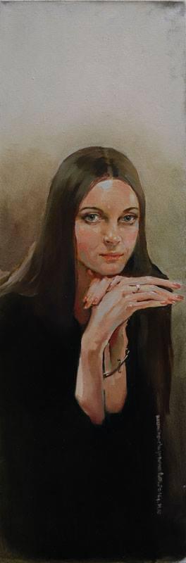 Татьяна Кузьмина-Чугунова Портрет Софии Загряжской