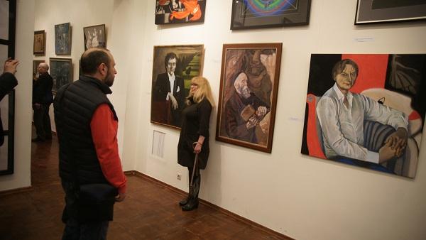 Выставка Елены Качелаевой в Академии  Сценография, живопись, графика Арт-Релиз.РФ