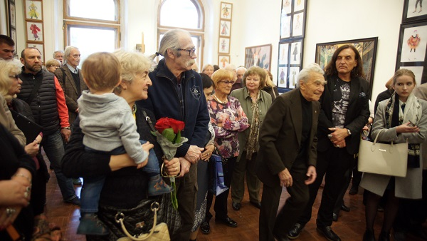Выставка Елены Качелаевой в Академии. Пречистенка, 21 Арт-Релиз.РФ