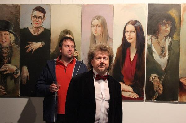 Ашу Шульгин журниласт Александр Осипов президент Национальной портретной галереи