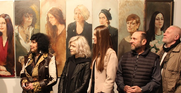 Татьяна Кузьмина-Чугунова, Анастасия (дочка Татьяны), София Загряжская, Александр Рябичев, Николай Наумов