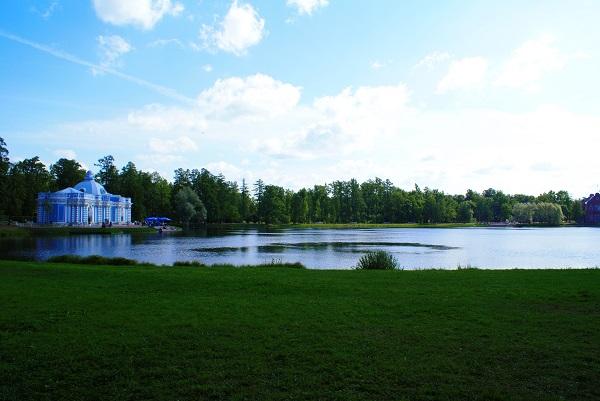 Парк и пруд Екатерининский Дворец фото Александра Загряжская АРТ-РЕЛИЗ.РФ