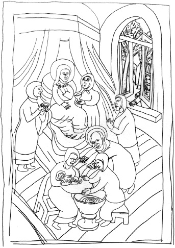 Юрий Петкевич книга С птицей на голове (иллюстрация)