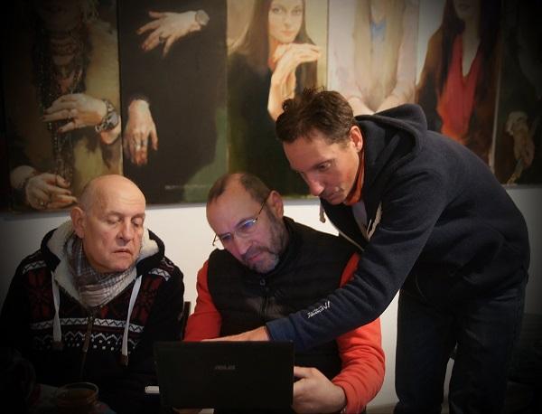 Александр Луконин рассказывает о проблеме памятники Василию Чапаеву скульпторам Сергею Смурову и Александру Рябичеву